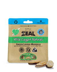 Zeal Green Lipped Mussels Treats for Cats and Dogs 50g