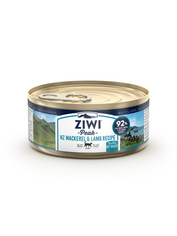 ZIWI Peak Wet Mackerel & Lamb Recipe Cat Canned Food