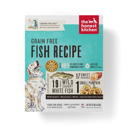 15% OFF + FREE GIFT Honest Kitchen Grain Free Fish Dehydrated Dog Food - Zeal