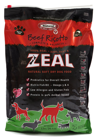 Zeal Beef Risotto Dry Dog Food