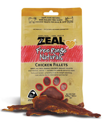 Zeal Chicken Fillets Cat + Dog Pouches