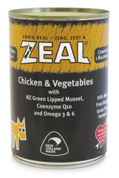 Zeal Chicken & Vegetables Adult Wet Dog Food