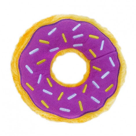 ZippyPaws Halloween Donutz Grape Jelly