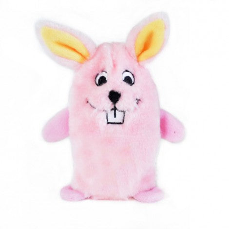 ZippyPaws Squeakie Buddie Pink Bunny
