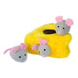ZippyPaws Zippy Burrow Mice 'n Cheese