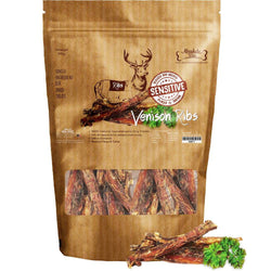 Absolute Bites Air Dried Venison Ribs - Push Pets Singapore