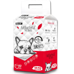 Absorb Plus Antibacterial Pet Sheets - Push Pets Singapore