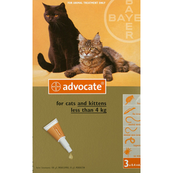 Advocate for Cats (<4kg)
