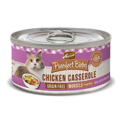Merrick Purrfect Bistro Grain Free Chicken Casserole Canned Cat Food - Push Pets Singapore