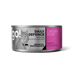 Petcurean Go! Daily Defence Chicken Stew Canned Cat Food - Push Pets Singapore