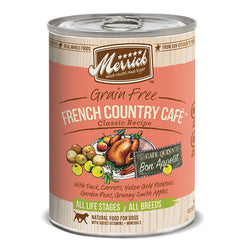 Merrick Classic Grain Free French Country Cafe Canned Dog Food - Push Pets Singapore