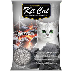 Kit Cat Charcoal Scented Cat Litter 10L - Push Pets Singapore