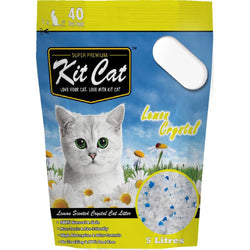Kit Cat Crystal Lemon Cat Litter 5L - Push Pets Singapore