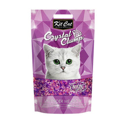 Kit Cat CrystalClump Lavender Meadow Cat Litter 4L - Push Pets Singapore