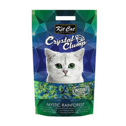 Kit Cat CrystalClump Mystic Rainforest Cat Litter 4L - Push Pets Singapore