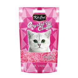 Kit Cat CrystalClump Pink Vanilla Cat Litter 4L - Push Pets Singapore
