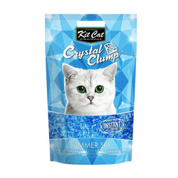 Kit Cat CrystalClump Summer Sky Cat Litter 4L - Push Pets Singapore