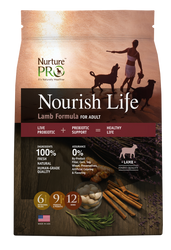 Nurture Pro Nourish Life Lamb Formula Adult Dry Dog Food - Push Pets Singapore