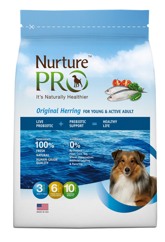 Nurture Pro Original Herring Adult Dry Dog Food - Push Pets Singapore