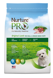Nurture Pro Original Lamb Small & Medium Breed Puppy Dry Dog Food - Push Pets Singapore