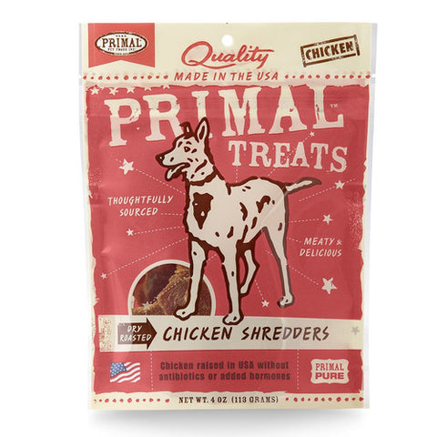Primal Dry Roasted Chicken Shredders for Dogs - Push Pets Singapore