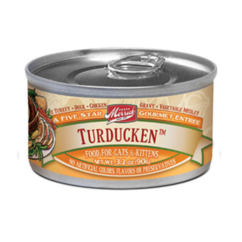 Merrick Purrfect Bistro Turducken Canned Cat food - Push Pets Singapore