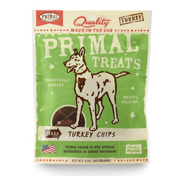 Primal Jerky Turkey Chips - Push Pets Singapore