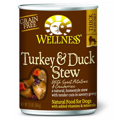 Wellness Turkey & Duck Stew with Sweet Potatoes & Cranberries - Push Pets Singapore