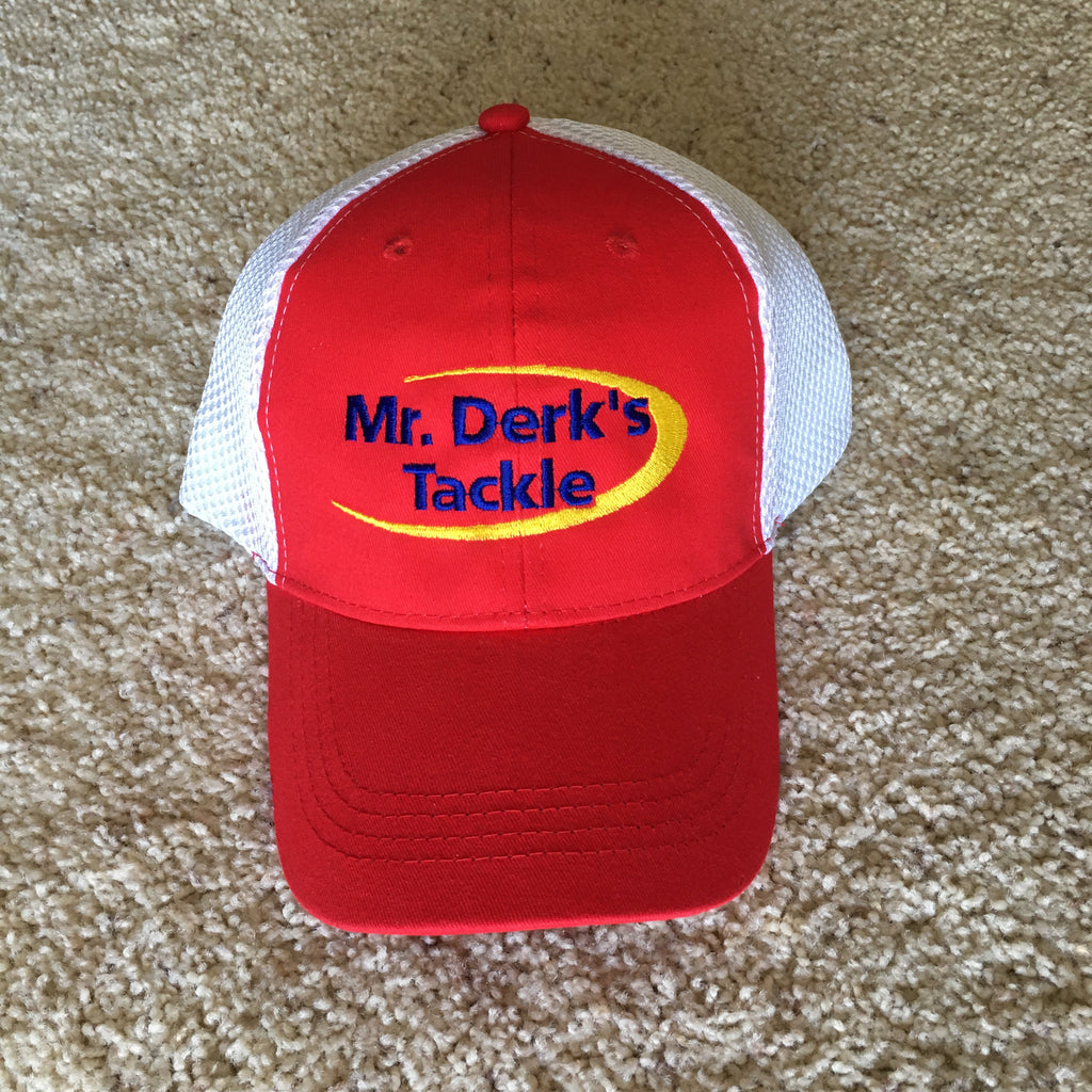 Mr. Derk's Tackle Red Hat