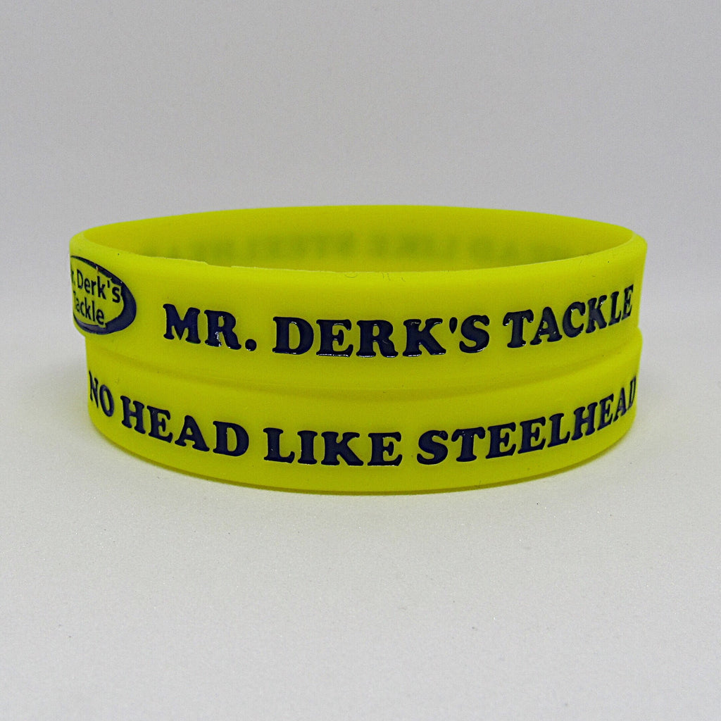 No Head Like Steelhead Wristband