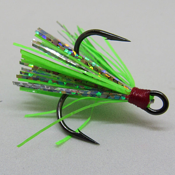 Green Disco Peanut Fly (UV)
