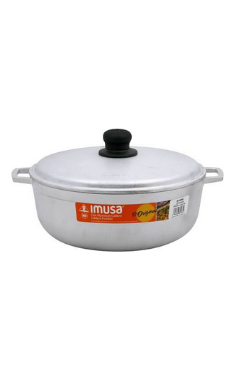CAST ALUMINUM, 3QT MED. RICE POT