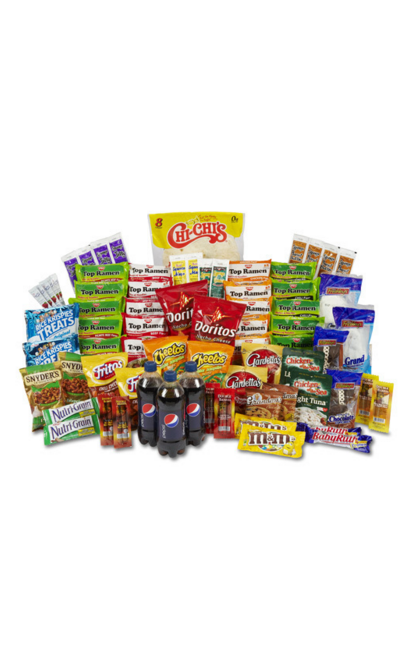 MEAT & CHIPS LARGE INMATE VALUE CARE PACKAGE