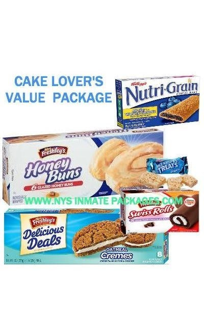 CAKE LOVER'S VALUE PACKAGE (20) ITEMS