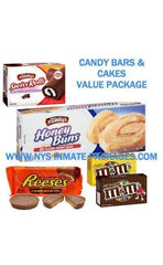CANDY BARS & CAKES VALUE PACKAGES $24.99