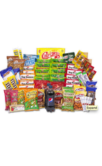 CHIPS, CANDY, MEAT SNACKS & MORE VALUE KIT! $59.99