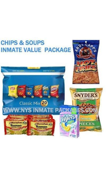 CHIPS & SOUPS INMATE VALUE CARE $34.99