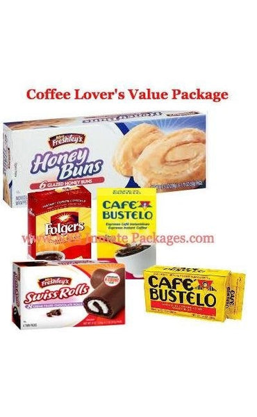 THE COFFEE BREAK SMALL INMATE VALUE PACKAGE