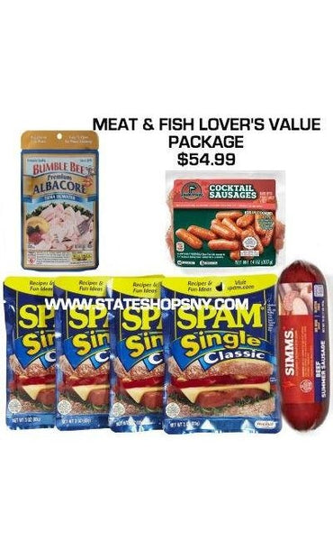 Meat Lovers Package-Beef & Fish