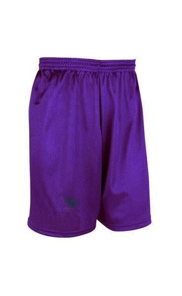 MEN'S NYLON-NO MESH- BASKETBALL SHORT