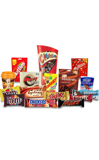 CHOCOLATE BARS & COOKIES VALUE PACKAGE