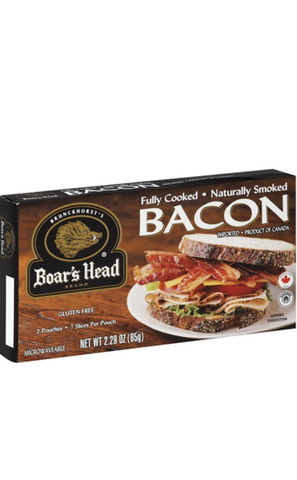 BOAR'S HEAD FULLY COOKED BACON $5.99