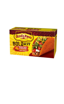 OLD EL PASO BOLD NACHO STAND N STUFF TACO DINNER KITS