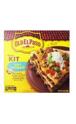 OLD EL PASO SOFT TACO BAKE DINNER KIT