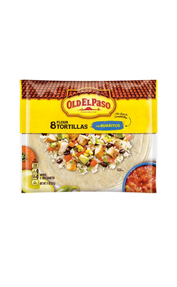 OLD EL PASO TORTILLAS-SOFT 8PK