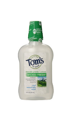 TOM'S OF MAINE ALCOHOL FREE MOUTH WASH, 16oz
