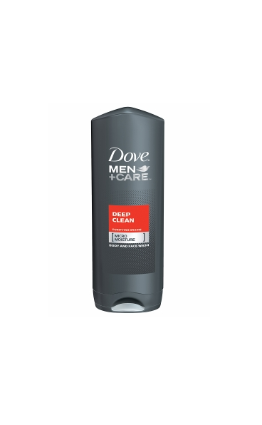 DOVE MEN+CARE BODY & FACE WASH, DEEP CLEAN 13.5 FL OZ