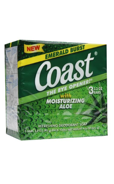 COAST BAR SOAP 2oz (3 BARS)