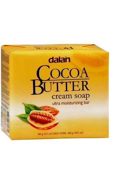 DALAN COCOA BUTTER CREAM SOAP 3BARS