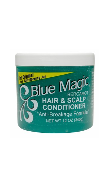 BLUE MAGIC HAIR & SCALP CONDITIONER, BERGAMOT